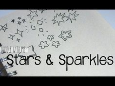 Doodle with Me: Stars + Sparkles - YouTube
