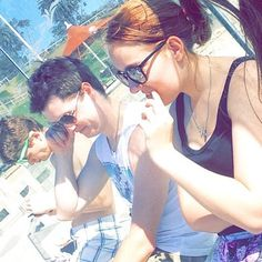 Beach with my boys from squad! #sqaudgoals #sqaudshit #squad #beach #beachday #windy #geelong #geelongwaterfront #sunshine #instalove #instalike #instagood #australia #awesome #fun #funday #spring #sunshine #sun #sunnies #mondaysarentsobad by emilyireland22 http://ift.tt/1JtS0vo