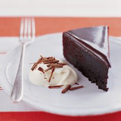 """This easy chocolate ganache tastes wonderful on our Glazed Chocolate Cake, featured in """"Everyday Food: Fresh Flavor Fast."""""""