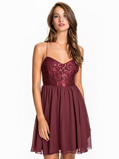 Shimmery Flare Dress