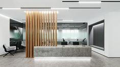 MONOLIT on Behance Corian Top, Free Space, Flooring, Behance, Furniture, Home Decor, Reception, Decoration Home, Room Decor