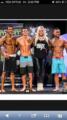I have a pipe dream of competing in a physique competition one day.