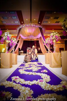 indian wedding photography and videography atlanta Wedding Mandap, Wedding Stage, Wedding Ceremony, Dream Wedding, Purple Wedding, Cheap Wedding Decorations, Ceremony Decorations, Indian Wedding Photography, Wedding Photography And Videography