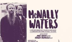 Waters y Larry McNally en Argentina