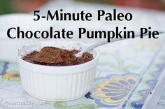 Get this super quick and delicious Paleo pumpkin pie recipe and start enjoying amazing food in under 5 minutes! Photos and printable instructions available.