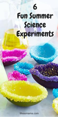 Fizz, explosions, drips, these summer science experiments offer the right amount of learning to satisfy any mom and the perfect amount of fun to keep the little ones entertained.