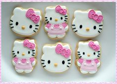 Helly Kitty cookies