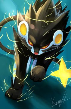 Luxray by kraytt-05 on DeviantArt
