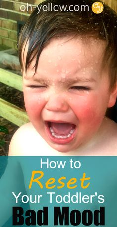 Toddler tantrums got you down? Try these FUN tips to redirect your day... || Toddler, Bad Mood, Toddler Tantrum, Reset, Distract Toddler, Fussy, Redirect, Ways, Activities, Tips, Tricks, Calm Down, Dealing, Stop