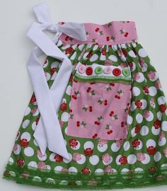 Bee In My Bonnet: Apron in a Jar. Clever gift idea!