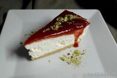 Τσίζκεϊκ φράουλα, εύκολα και γρήγορα Cheesecake, Food And Drink, Cooking, Sweet, Desserts, Weddings, Foods, Deco, Kitchen