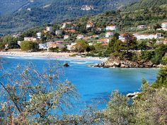 Beautiful Chrissi Amoudiai, Greek Island of Thassos. Photo by Ronald Saunders on Flickr.