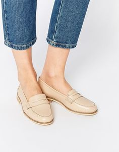 ASOS COLLECTION ASOS MARS Leather Loafers