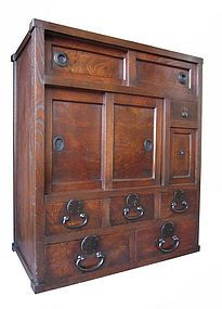 I touched on my affinity for the Japanese tansu in my last post. I have wanted to build some version of a tansu for quite some time now. You can explore several samples here. There is surprising… Japanese Furniture, Asian Furniture, Oriental Furniture, Unique Furniture, Trunk Furniture, Cabinet Furniture, Diy Furniture, Asian Design, Antique Cabinets