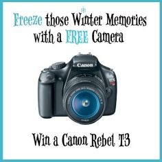 Freeze those Winter Memories with a FREE CAMERA! wintercamera – How Does She...