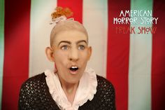 American Horror Story | Ahs Freakshow | Pepper Makeup Transformation
