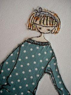 Supercutetilly: Last on my list :( Freehand Machine Embroidery, Free Motion Embroidery, Machine Embroidery Projects, Machine Embroidery Applique, Applique Patterns, Free Motion Quilting, Diy Embroidery, Applique Quilts, Quilt Patterns
