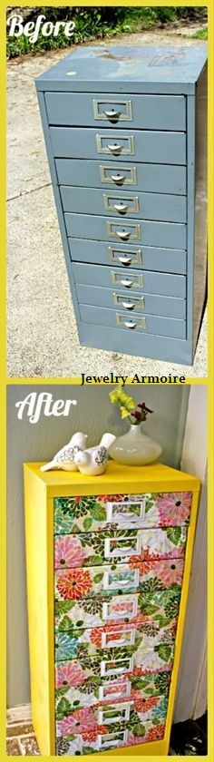 Before and After : Jewelry Armoire By www.theclassyhome.com