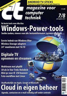 C't Magazine voor computertechniek is al jaren het meest toonaangevende computertijdschrift van Nederland en België. Met het laatste computernieuws, zeer uitgebreide tests en praktische artikelen biedt c't de juiste informatie om optimaal rendement te halen uit je hardware en software.