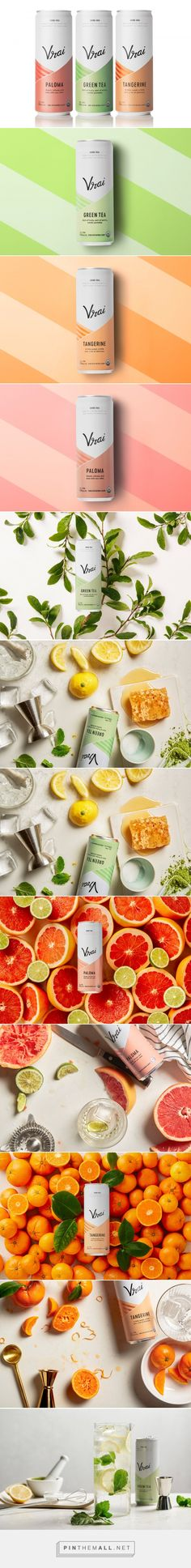 Vrai is the Perfect On-The-Go Vodka To Enjoy Summer With — The Dieline | Packaging & Branding Design & Innovation News - created via https://pinthemall.net