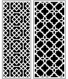Dercor panel 62 – Download Free Vector Stair Railing Kits, Window Grill Design, Art File, Autocad, Vector File, Free Design, Animal Print Rug