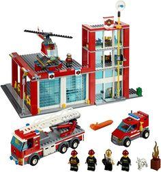 60004 - Fire Station #LEGO #2013