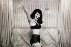 Happy birthday & RIP to the legendary & ultimate pinup Bettie page. April 22, 1923 – December 11, 2008