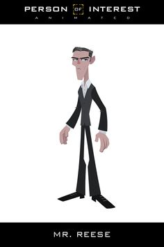 Person of Interest Animated by Juan Manuel Reggi, via Behance