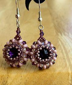 Seed Bead Jewelry, Diy Jewelry, Beaded Jewelry, Jewlery, Unique Jewelry, Handmade Jewelry, Beaded Earrings, Statement Earrings, Drop Earrings