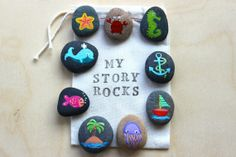 Under the Sea / Story Stones and Painted Rocks