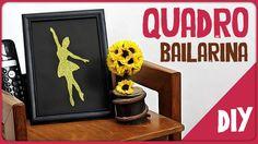 Quadro Bailarina =DiY