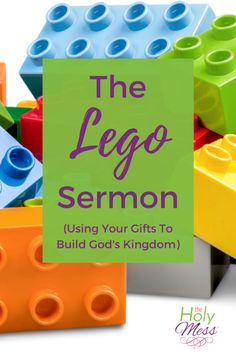 This Lego Bible Lesson teaches kids to Play Well Together, a sermon by Rev. Michael Borgstede for Mount Olive Lutheran Church anniversary. Sunday School Kids, Sunday School Activities, Church Activities, Bible Activities, Sunday School Lessons, Sunday School Crafts, Kids Church Lessons, Bible Lessons For Kids, Lego Bible