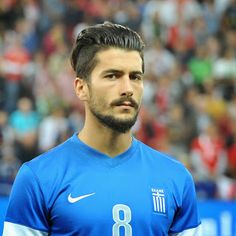 Panagiotis Kone // Greece // World Cup World Cup 2014, Fifa World Cup, Melbourne Victory Fc, Soccer Player Hairstyles, Bologna Fc, Torino Fc, Paris Saint Germain Fc, Claudio Marchisio, Southampton Fc