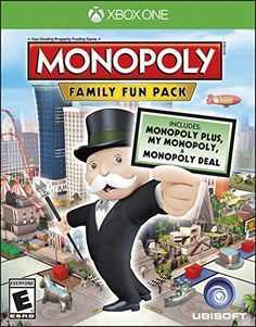 Monopoly Family Fun Pack  Xbox One Standard Edition -- To view further for this item, visit the image link. Note:It is Affiliate Link to Amazon.
