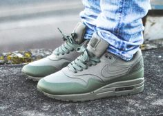 Nike Air Max 1 Patch Pack Steel Green - http://sneakeraddict.net/nike-air-max-1-patch-pack-steel-green/ -