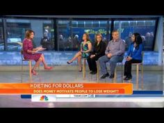 HealthyWage on the Today Show! Weight Loss Challenge, Weight Loss Goals, Want To Lose Weight, Loose Weight, 5 Minutes Workout, Good Morning America Hosts, Apps That Pay You, Team Challenges, Win Money
