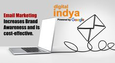 At Digital Indya E- mail marketing is an effective way to keep customers informed about the present scenario of digital marketing.