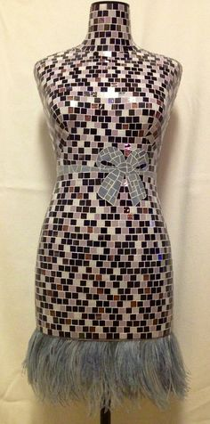 MUST SEE!! Mosaic Mannequin-Sophie by chutneyblakedesigns on Etsy, $2000.00