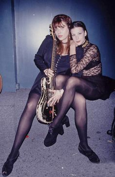 15-year-old Liv Tyler with mom Bebe Buell  by David McGough   1993