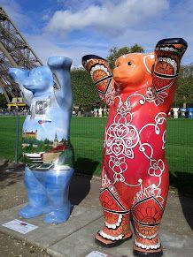 Exposition United Buddy Bears #Paris - 2012 - Photo Martine Le Jossec