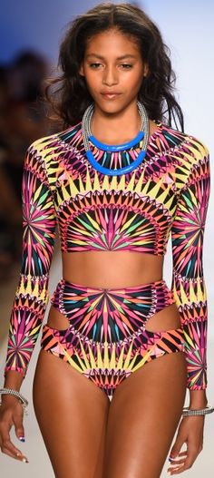 marahoffman swim 2015 bikini swimwear bathingsuit fashionshow