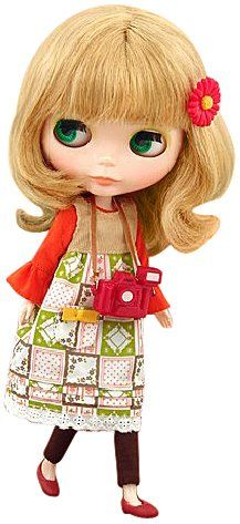 Blythe Doll Shop Limited Cassiopeia Spice by Takara Tomy