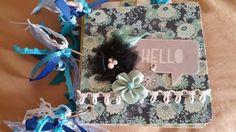 TPHH Whimsical Scrapbook Album by detailed4u in Crafts, Scrapbooking & Paper Crafts, Scrapbooking Albums | eBay