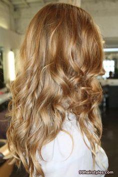 beautiful long bangs dark blonde hairstyle - 99 Hairstyles Ideas