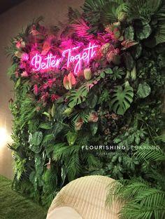 Custom Neon Signs, Led Neon Signs, Salon Interior Design, Cafe Interior, Schönheitssalon Design, Custom Design, Shooting Studio, Beauty Room Decor, Deco Restaurant
