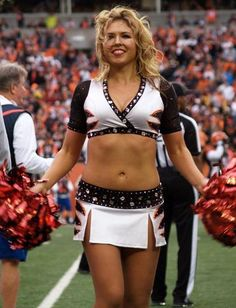 Cheerleaders cincinnati bengals