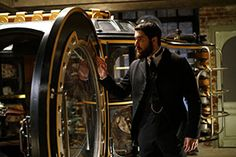 Josh Bowman stars in ABC's Time After Time