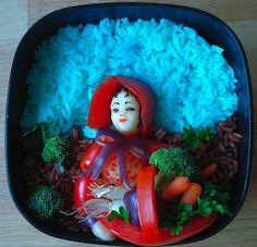 Sakurako kitsa - uma forma diferente de ver a comida