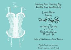 Tiffany Blue Lingerie  Lingerie Shower by mycharmingprints on Etsy, $0.85