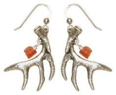 Big Sky Silver® Shed Horn Jewelry Collection - Deer Antler Dangle Earrings | Bass Pro Shops